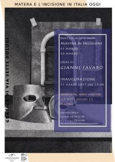 Mostra Gianni Favaro  - Matera