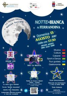 Notte Bianca a Ferrandina - II edizione  - Matera