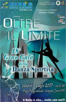 Oltre il limite - Gran Galà della Danza Sportiva  - 7 Luglio 2017 - Matera