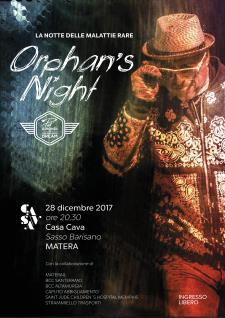 Orphan's Night - La notte delle malattie rare  - Matera