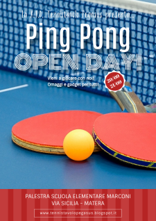 Ping Pong Open Day - Matera