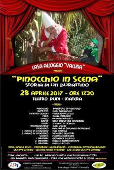 Pinocchio in Scena - 28 Aprile 2017 - Matera