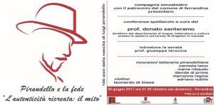 """Pirandello e la fede """"L'autenticità ricreata: Il mito""""  - Matera"""
