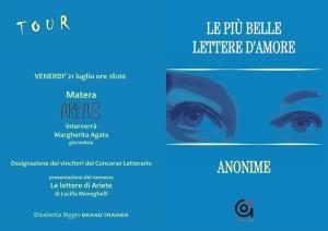 """Premiazione del Concorso Letterario """"La più bella lettera d'amore anonima""""  - Matera"""