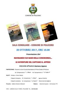 Presentazione dei libri di Marina Gaetano Appeso - Matera