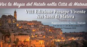 """Presepe Vivente nei Sassi di Matera 2017 """"Venite a Me…""""  - Matera"""