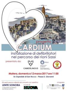 Progetto Cardium  - Matera