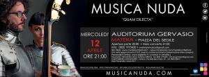 """Qua Dilecta"" - Musica Nuda - 12 Aprile 2017 - Matera"