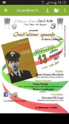 Quell'ultimo sguardo - 13 Maggio 2017 - Matera
