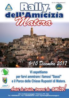 Rally dell'Amicizia  - Matera