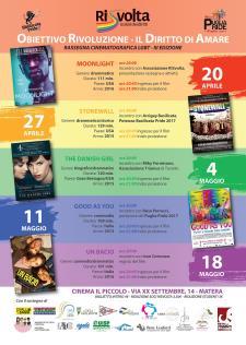 Rassegna Cinematografica LGBT - III edizione  - Matera