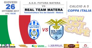 Real Team Matera vs Futura Matera - 26 ottobre 2017 - Matera