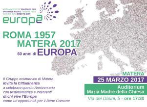 Roma 1957 - Matera 2017  - Matera