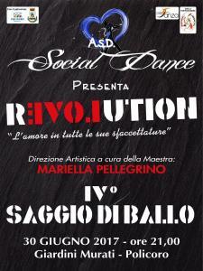 """Saggio di danza """"Revolution"""" - 30 Giugno 2017 - Matera"""