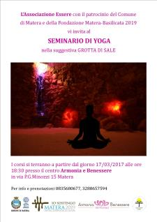 Seminario di Yoga  - Matera