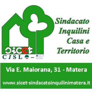 SICET Sindacato Inquilini Casa e Territorio di Basilicata (logo) - Matera
