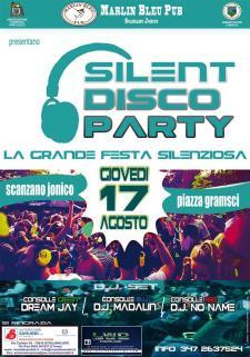Silent disco party - 17 AGosto 2017 - Matera