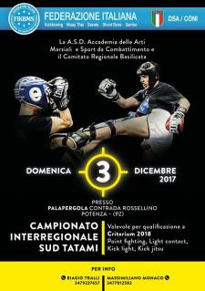 Sparring Day di Kickboxing a Potenza - Matera