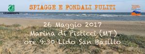 Spiagge e Fondali Puliti 2017  - 26 Maggio 2017 - Matera