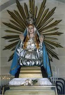 Statua della Madonna di Picciano - Matera
