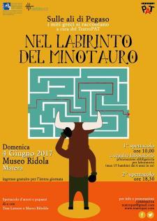 Teatro al Museo. Nel Labirinto del Minotauro  - 4 Giugno 2017 - Matera