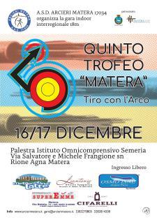 """Trofeo """"Matera"""" di tiro con l'arco 2017 - Matera"""