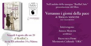 Verranno i giorni della pace di Amalia Mancini - Matera