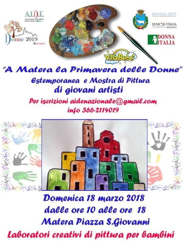 A Matera la Primavera delle Donne - 18 marzo 2018