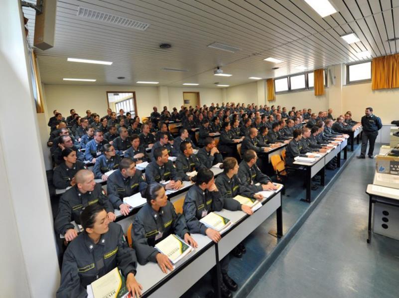 Allievi marescialli Guardia di Finanza