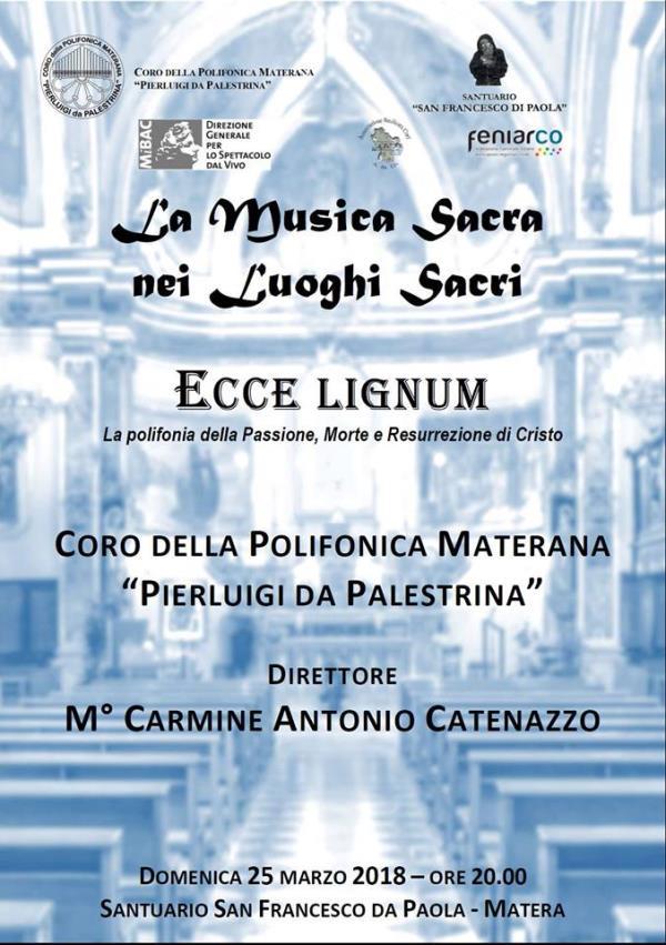 Ecce Lignum – la polifonia della Passione, Morte e Resurrezione di Cristo - 25 marzo 2018