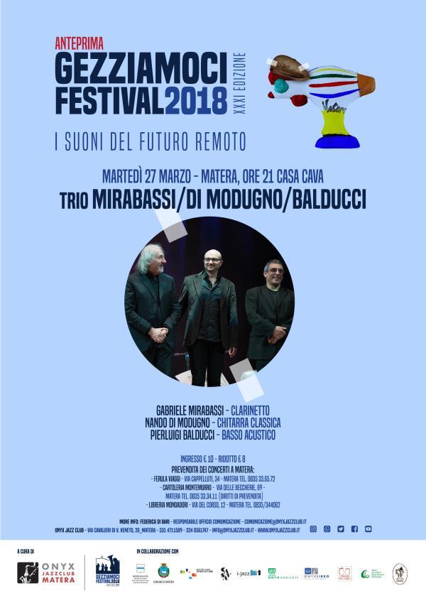 Trio MIRABASSI/DI MODUGNO/BALDUCCI