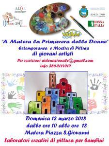 A Matera la Primavera delle Donne - 18 marzo 2018 - Matera