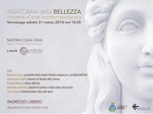 Anatomia della bellezza - dal 30 marzo al 6 aprile 2018 - Matera