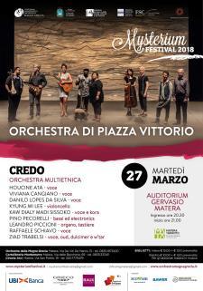 Credo - Orchestra multietnica - 27 marzo 2018 - Matera