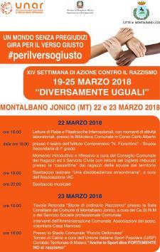 Diversamente uguali - 22 e 23 marzo 2018 - Matera