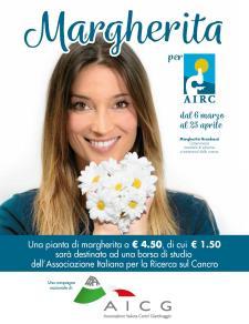 Margherita per AIRC 2018 - Matera