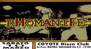 Rhomanife a Matera - 10 marzo 2018 - Matera