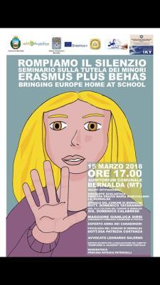 Rompiamo il silenzio- 15 marzo 2018 - Matera