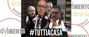 #Tuttiacasa - manifestazione del Movimento 5 Stelle - Matera