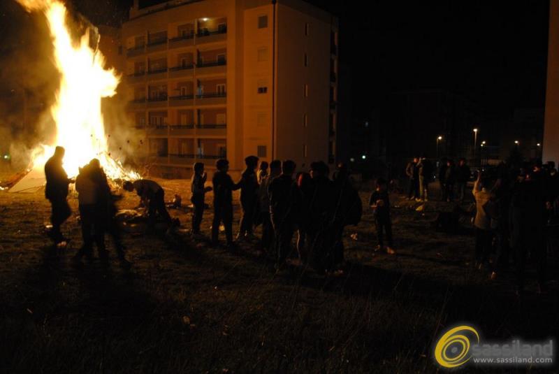 Falò di San Giuseppe a Matera - 20 marzo 2013 (foto SassiLand)