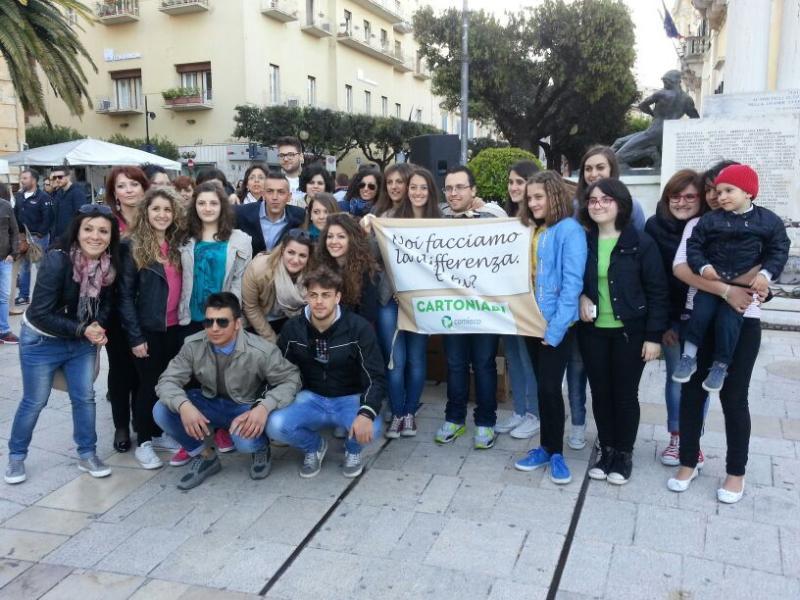 "Flash-mob ""I Love Cartoniadi"" - 18 maggio 2014"
