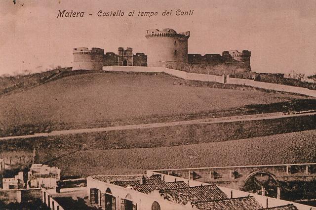 Castello al tempo dei Conti