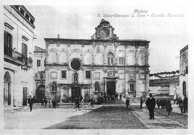 Liceo Ginnasio, E. Duni, Convitto Nazionale