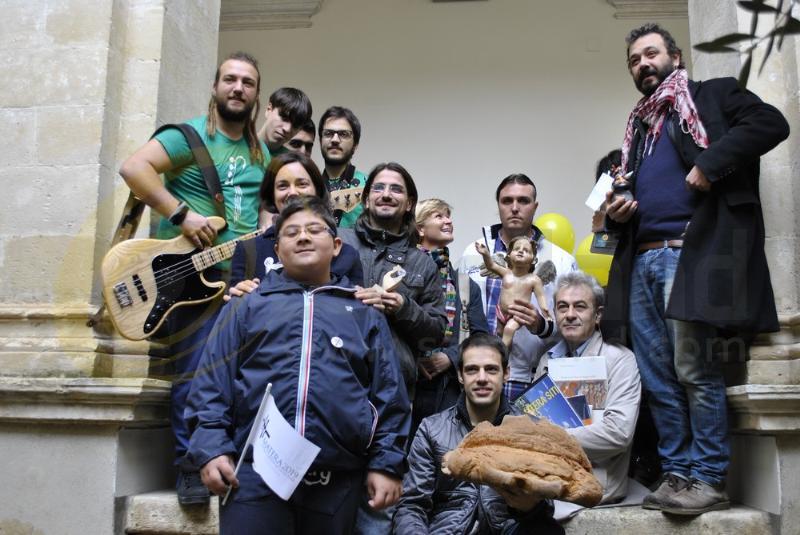 Grande festa per Matera 2019 a Palazzo Lanfranchi - 13 novembre 2013 (foto SassiLand)