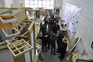 Conferenza stampa sullo stato dei lavori sul Carro Trionfale - 1 marzo 2014 (foto SassiLand) - Matera