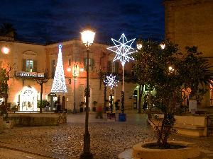 Matera, scorcio di Piazza Vittorio Veneto. 04.01.2011.