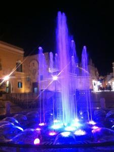 Foto realizzata in piazza Vittorio Veneto a Matera