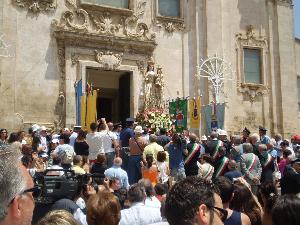 Matera - Piazza San Francesco - 1 luglio 2008