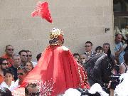 Matera p.zza S.Francesco 2 Luglio 2010. Vice comandante a cavallo.Foto Pino Losignore