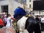 il generale sale a cavallo, p.zzza s. francesco